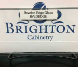 Beveled Edge Glass