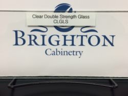 Clear Double Strength Glass