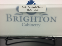 Satin Frosted Glass